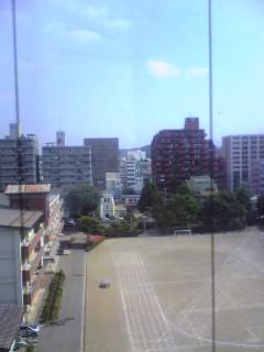 岩手県盛岡市上空の様子です。