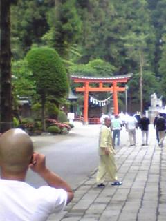 青森県八戸市の櫛引八幡宮の様子です。