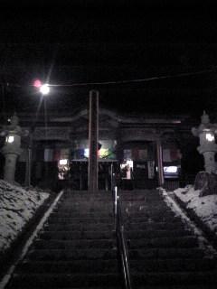 元日の箟峯寺本堂の様子です。
