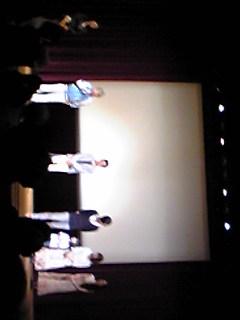 映画『つるしびな』の監督、出演者による舞台挨拶の模様です。