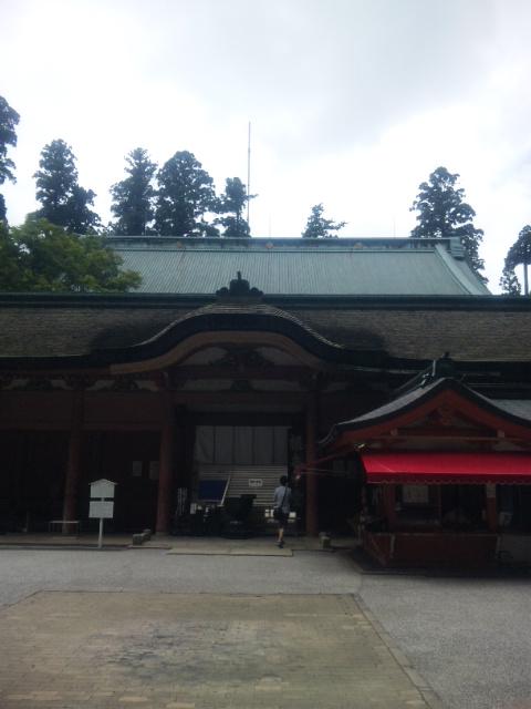 比叡山延暦寺根本中堂に行ってきました。