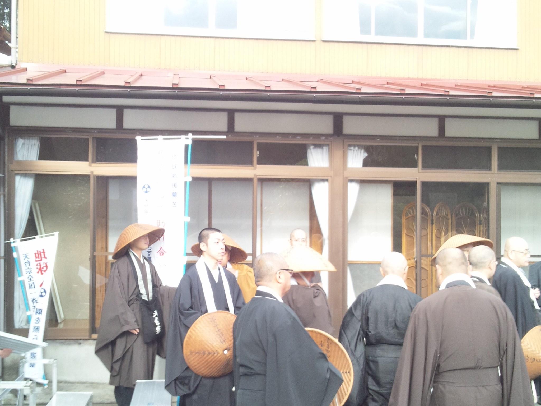 『天台宗陸奥教区一斉托鉢会』が行われました。